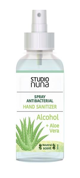 Antibacterial Manos alcohol + Aloe+ frag neutral 60ml