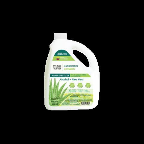 Antibacterial Manos alcohol + Aloe Galon