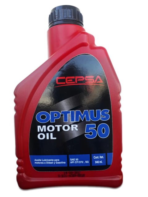 OPTIMUS SAE 50 CF-CF2 SG LITRO